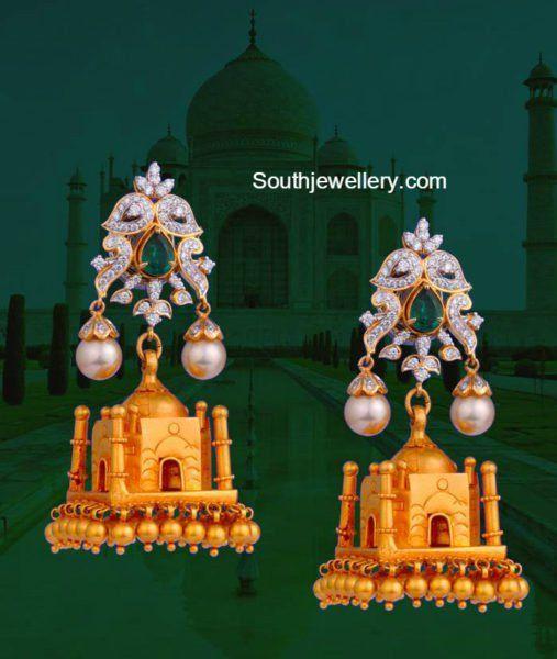 Taj Mahal Jhumkas photo