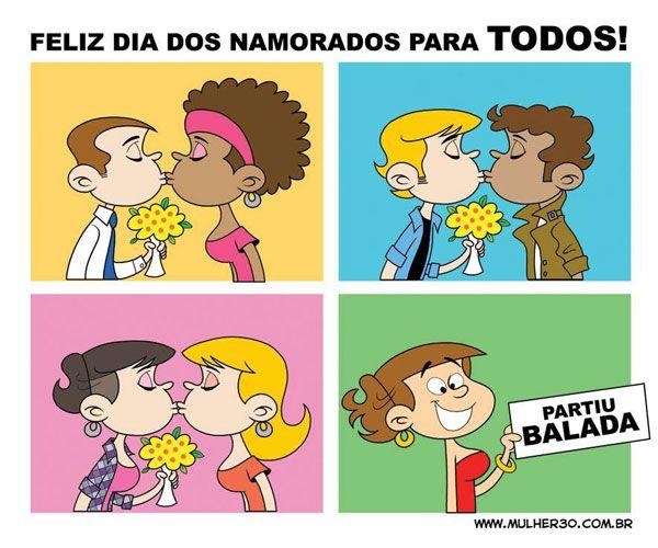 Feliz Dia dos Namorados para TODOS! <3 #DiadosNamorados #Mulher30 #Namorados