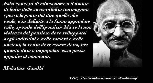 Mahatma Gandhi  Fondatore Non Violenza muore assassinato 30 gennaio 1948