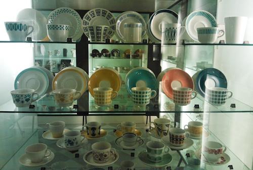 pientä mutta suurta: Old Arabia´s cups from International Coffee Cup museum at Posio, Finland