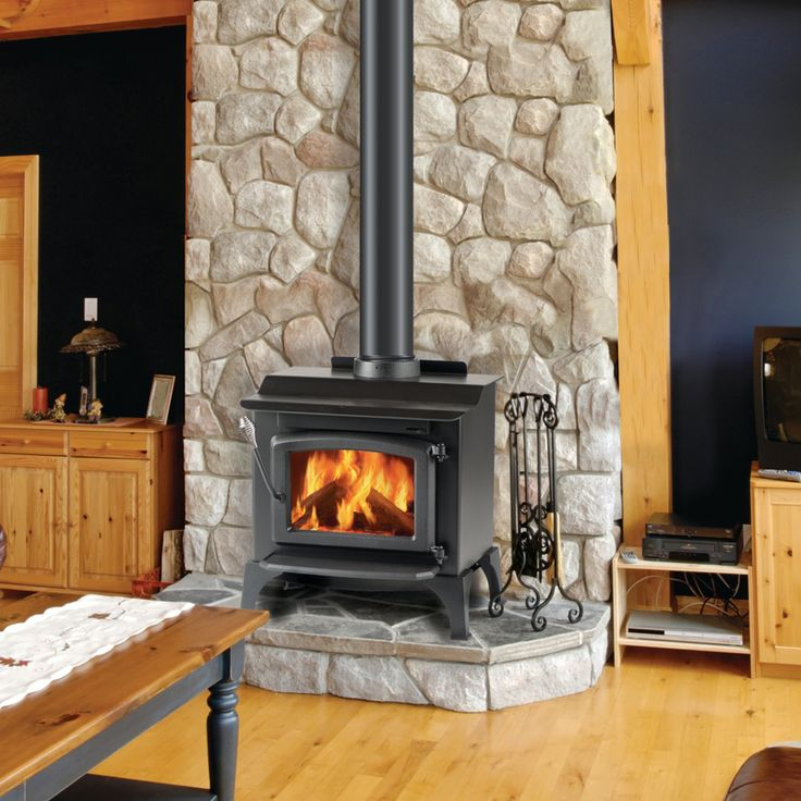 Wood Burning Stoves : Gas Grills and Fireplaces : Fireplace ...