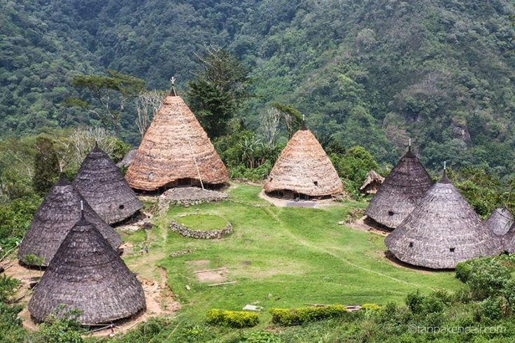 #FloresIndonesia Wae Rebo is an isolated and unspoilt Manggaraian highland village situated 1100m above sea level in the crater of an ancient volcano. The village can only be reached via a 3-4 hours uphill trek from the lowlands.   http://iwannatravel.com.sg/3d2n-wae-rebo-trek #iwannatravel.com.sg