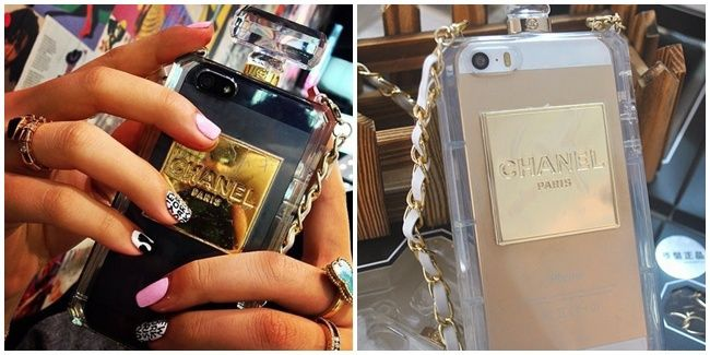 #Syahrini Ternyata Juga Pakai Casing iPhone Botol Parfum Chanel ~ #DZmodis #NEWS #Fashion news.deluxezoneshop.com