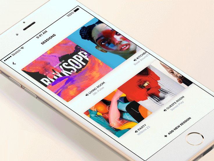 Music Player Animation - iOS App by Piotr Miłoszewski #animation #app #ios #mobile #music #player #spotify #ui #ux