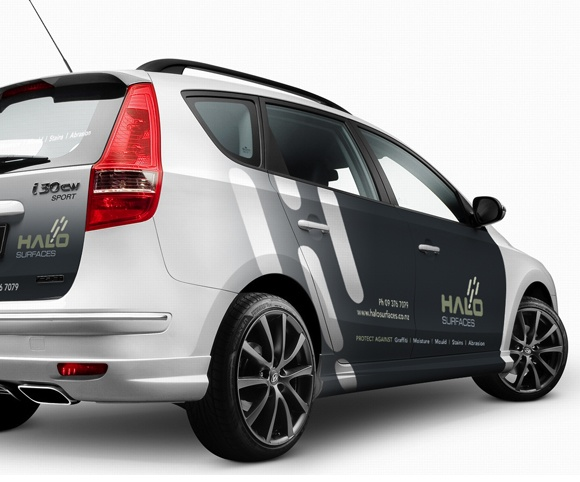 Halo Car Graphics