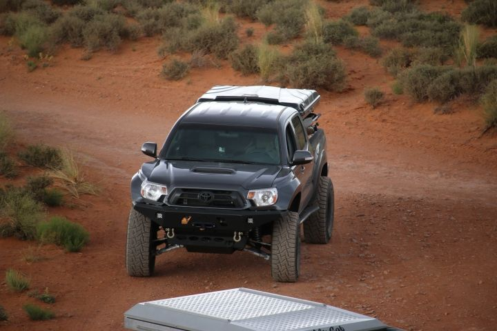 Expedition Build of 2015 Toyota Tacoma with long travel suspension | Tav LLC