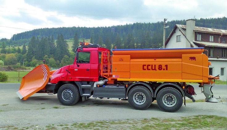 Tatra T163 snowplough