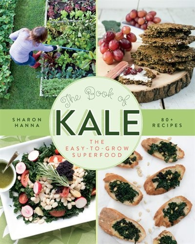If you love kale as much as we do then you have to check out The Book Of Kale: The Easy-to-grow Superfood, 80+ Recipes. There's no easier way to eat kale every day!