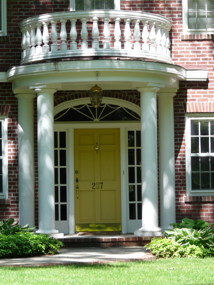 21 best images about rounded semi circular porticos on for Front door entrance patio