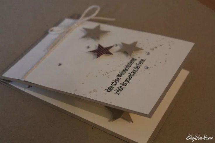 PopUp Karte zu Weihnachten