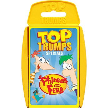 Phineas and Ferb Top Trumps
