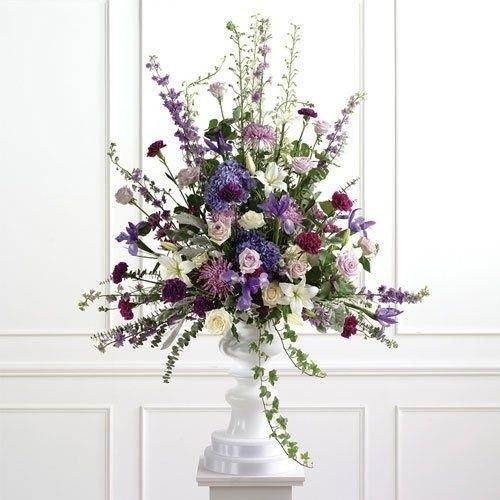 Flower Arrangement For Church Wedding: 55 Best Church Flowers Images On Pinterest
