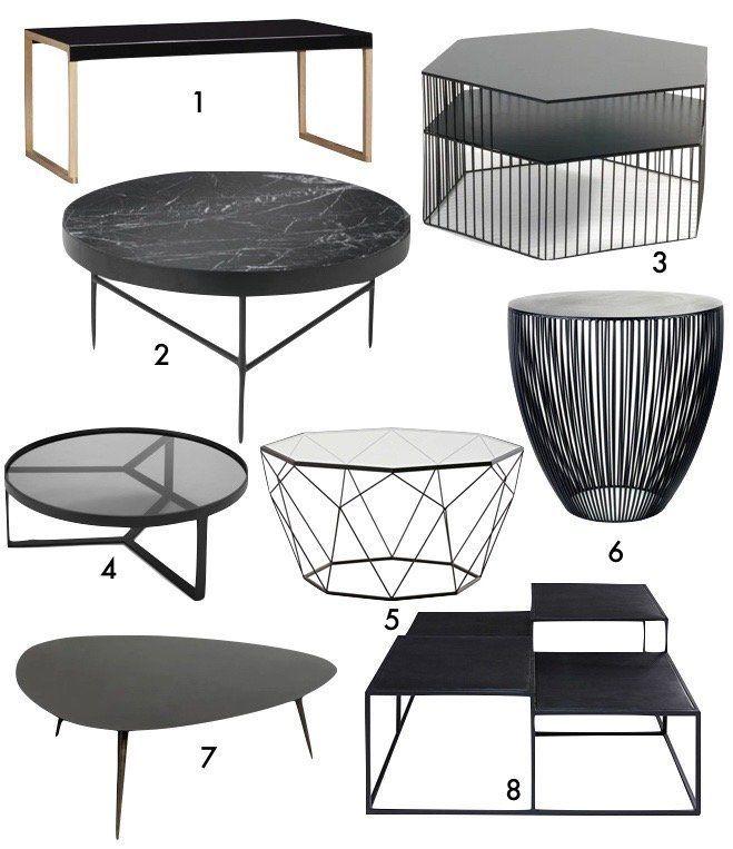 Blog Deco Masculine Chambre Idee Table Basse Noire Pour Salon Tablebasse Noire Black Salon Livingroom Deco Decor Home Goods Decor Coffee Table Furniture
