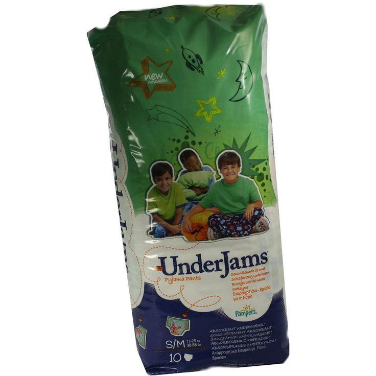 PAMPERS Under Jams Boy S-M 17-29kg:   Packungsinhalt: 10 St PZN: 05862309 Hersteller: Procter & Gamble GmbH Preis: 10,79 EUR inkl. 19 %…
