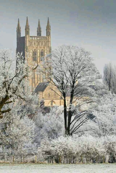 Worcester Cathedral, Worcs., England.