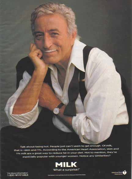 got milk ads | Bamboo Trading: Tony Bennett - Got Milk? Ad, Got Milk? Ads