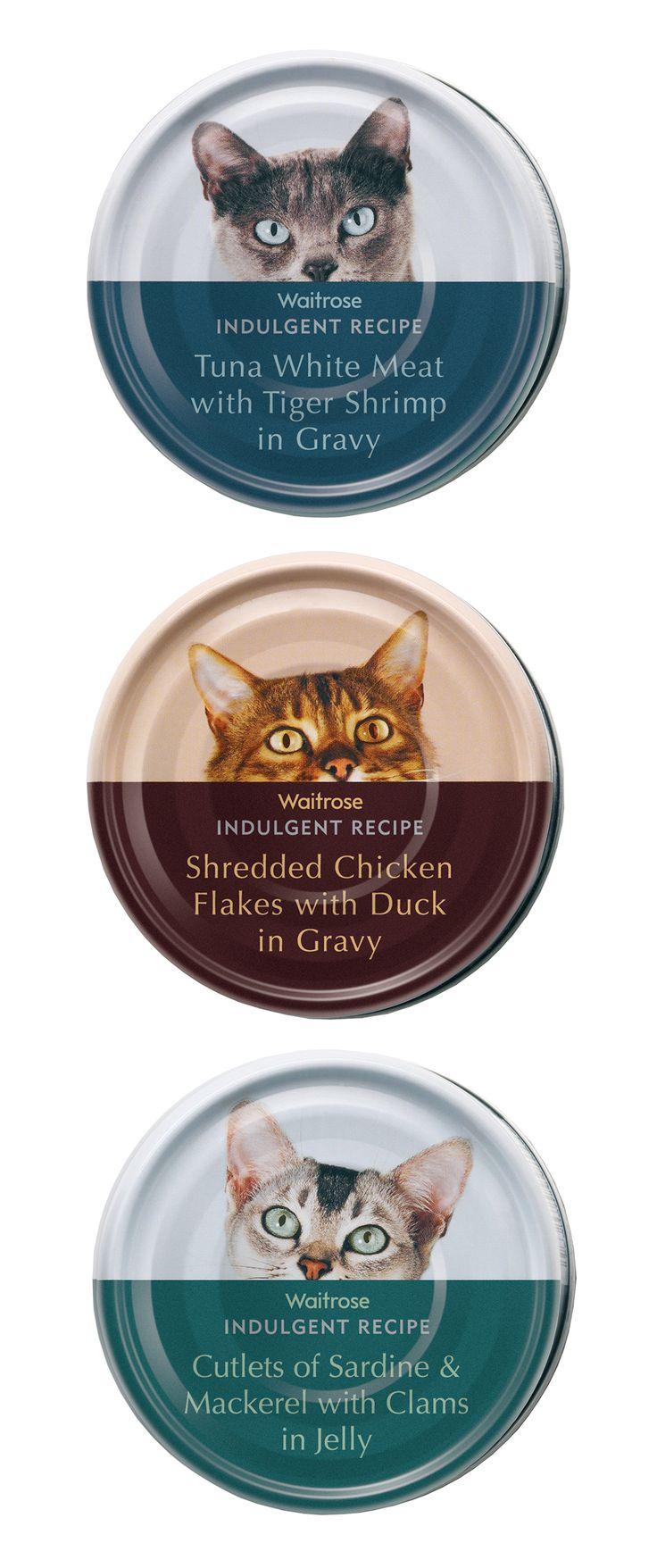 Agri cultures project logo duckdog design - Waitrose Cat Food Turner Duckworth England Pd
