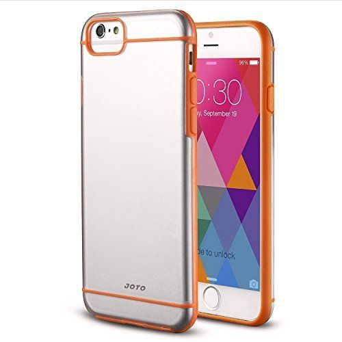 JOTO iPhone 6 Slim Fit Hybrid Bumper Cover Case (Flexible TPU + Hard PC) for Apple iPhone 6 http://phonecasesfromthebest.com/iphone-6-cases