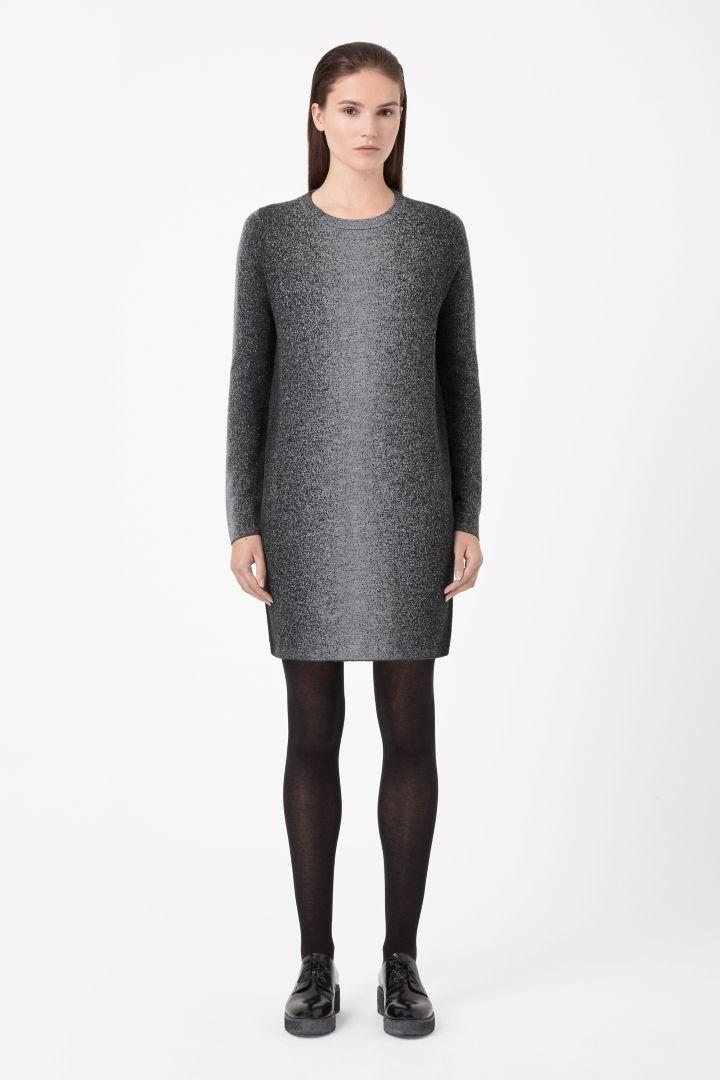 COS | Jacquard jumper dress