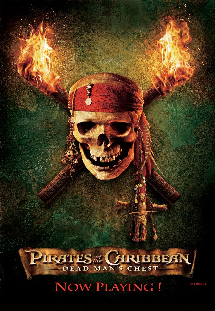 Pirates of the Caribbean Dead man's chest 2006