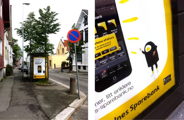 On 15 June, Sandnes Sparebank launched its new mobile bank. Simple and easily recognisable.