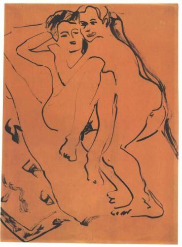 Lovers - Ernst Ludwig Kirchner