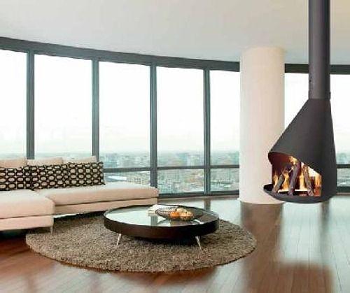 calefaccion refrigeracion chimeneas modernas para casas contemporneas