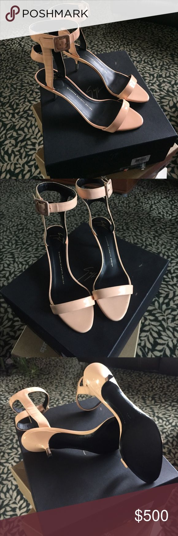 "Giuseppe heels Name of the shoes- ""COLINE 55 SANDAL VERNICE DOLLY"" BRAND NEW, NEVER WORN. Amazing condition. Very stylish & classy. Great for the summer & Super comfortable. Comes with box & papers. We do same day shipping! Size is 8.5 for anymore questions please feel free to ask! Thank you! 😄 Giuseppe Zanotti Shoes Heels"