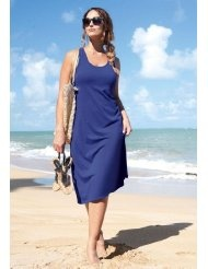 Jessica London Plus Size Tank Dress Cover Up
