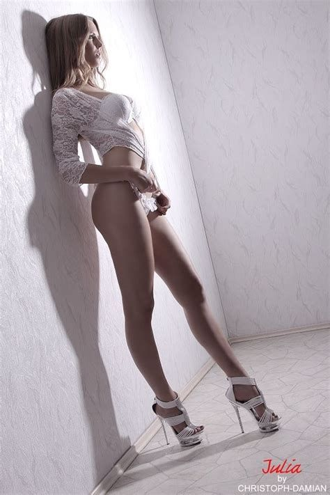 Remarkable bare women in high heels