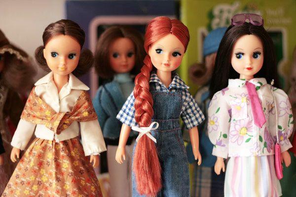 Fleur dolls ,Otto Simon / sindy clones Dutch
