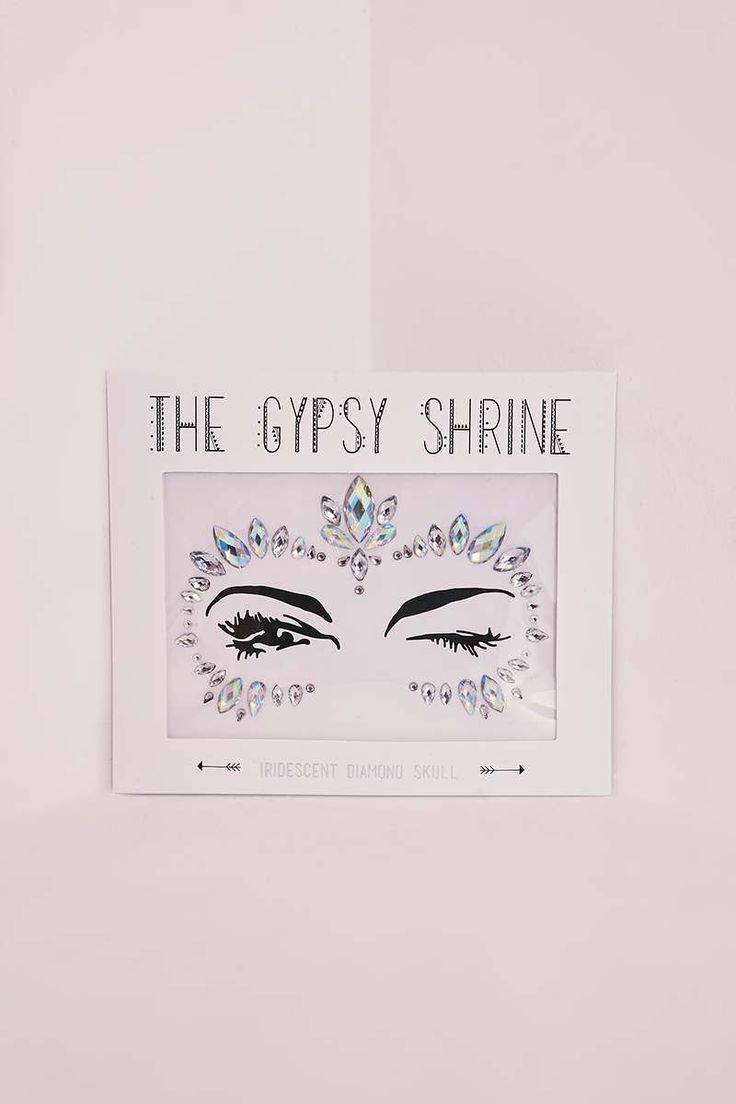 GYPSY SHRINE IRIDESCENT SKULL FACE JEWELS | In The Style
