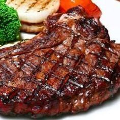 This blend of soy sauce, balsamic vinegar, and Worcestershire sauce makes an easy and tasty marinade for steak.
