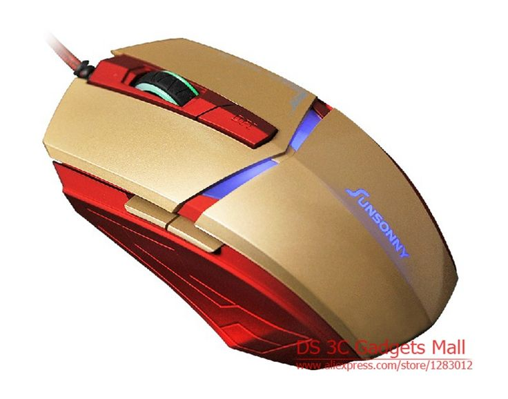 Железный человек мышь мыши usb для ноутбука компьютерная мышь