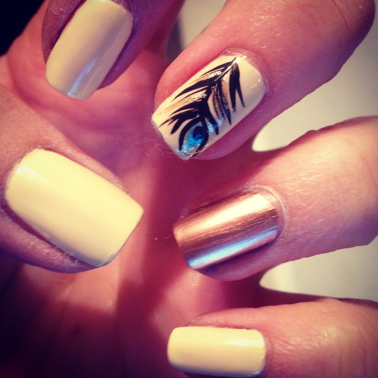 1000 Images About Feather On Pinterest Peacocks Feathers And Feather Nail  Designs - Nail Ideas Diy Nails Nail Designs Nail Art See More About Feather