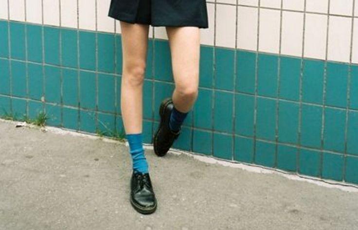 結局モノトーンに逃げてない2016秋版フラットシューズ靴下の正解カラーはこれだ