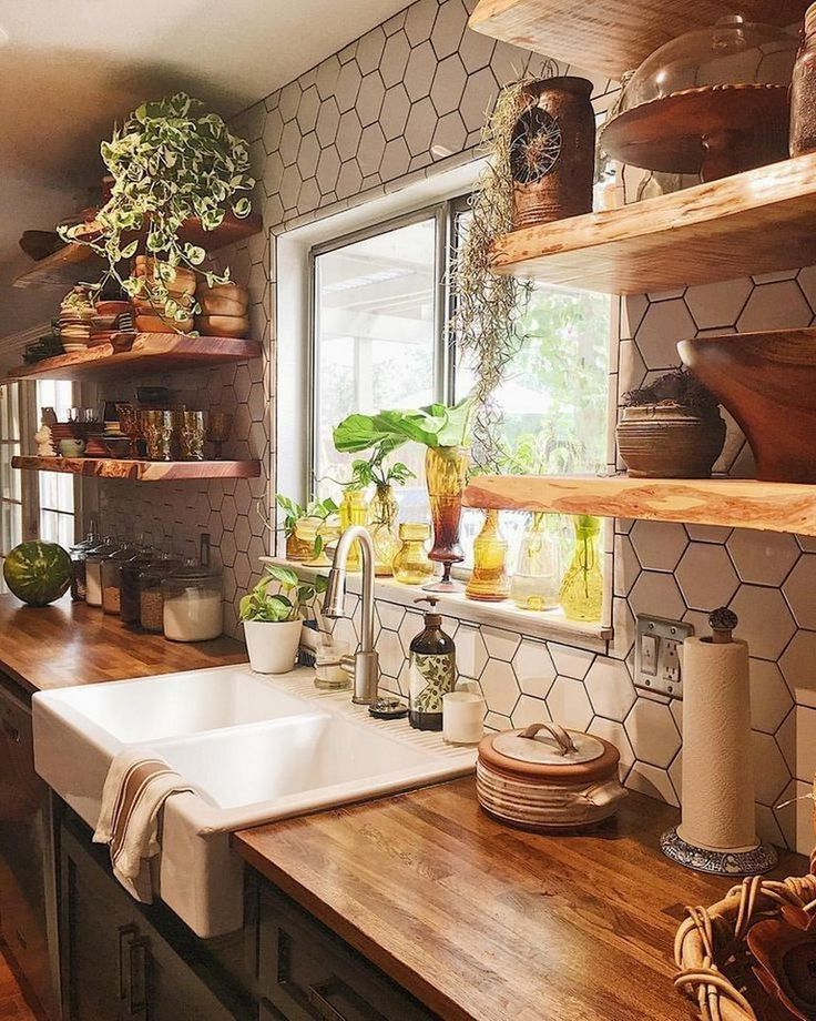 20+ FARMHOUSE KITCHEN DESIGN IDEAS ON A LOW ALLOCATION # Kitchens #Kitch design #K
