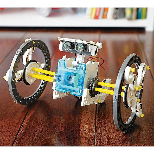 7 best 14 in 1 solar powered robot images on pinterest robot kits educational solar robot kit learn basic concepts behind alternative energy and engineering while creating amazing motorized machines solutioingenieria Choice Image