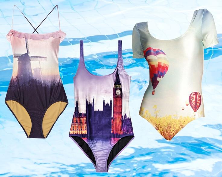 { We Are Handsome }   The Glamourai: Badeanzug Teddy, Digital Print Swimsuits, Swimwear Trends, Bath, Awesome Swimsuits, Handsome Swimsuits, Places, Bath