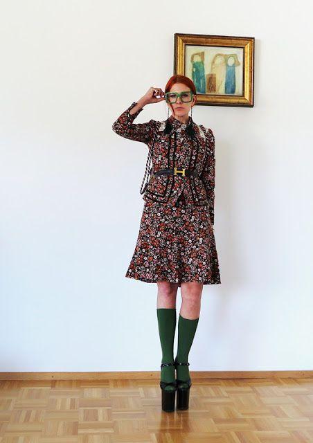 The wardrobe of Ms. B: Flower power