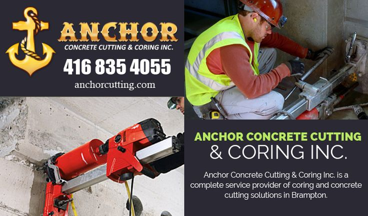 Anchorcutting provides #Concrete #Cutting_Services in #Mississauga at #affordable #price. So do not think more, visit at anchorcutting.COM ..!!  #ConcreteCuttingServicesMississauga Contact today: 416-835-4055  visit: http://www.anchorcutting.com/
