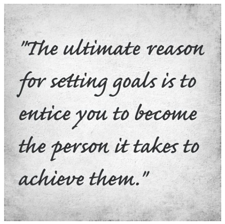how to set goals and achieve them seminar