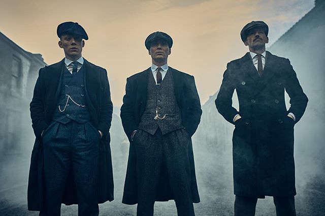 Here is an Instagram Exclusive Peaky Blinders season 3 photo taken on set in Liverpool.