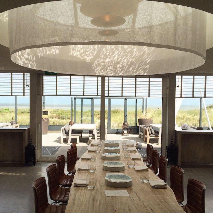 Aan deze tafel wil ik ook wel aanschuiven restaurant Pure-c Cadzand http://www.pure-c.nl