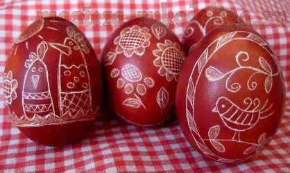 Мастер-класс по росписи: Украшение пасхальных яиц в технике драпанка