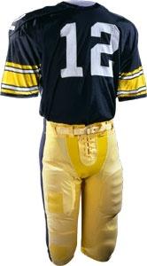 Bradshaw's Steelers uniform worn in Super Bowl XIV, 1980