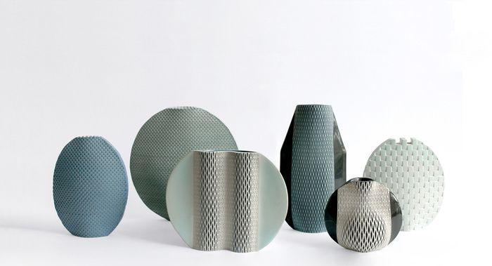 20 vases design : Vases Quetzal, Hélène Morbu.