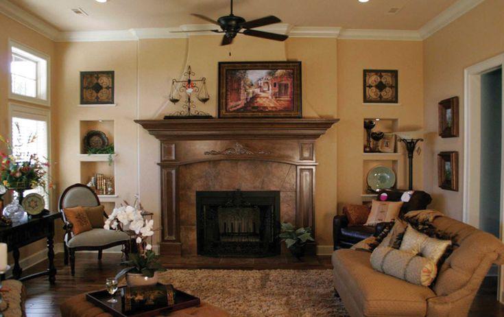 Comforting Living Room With Fireplace - plan 067S-0001 | houseplansandmore.com