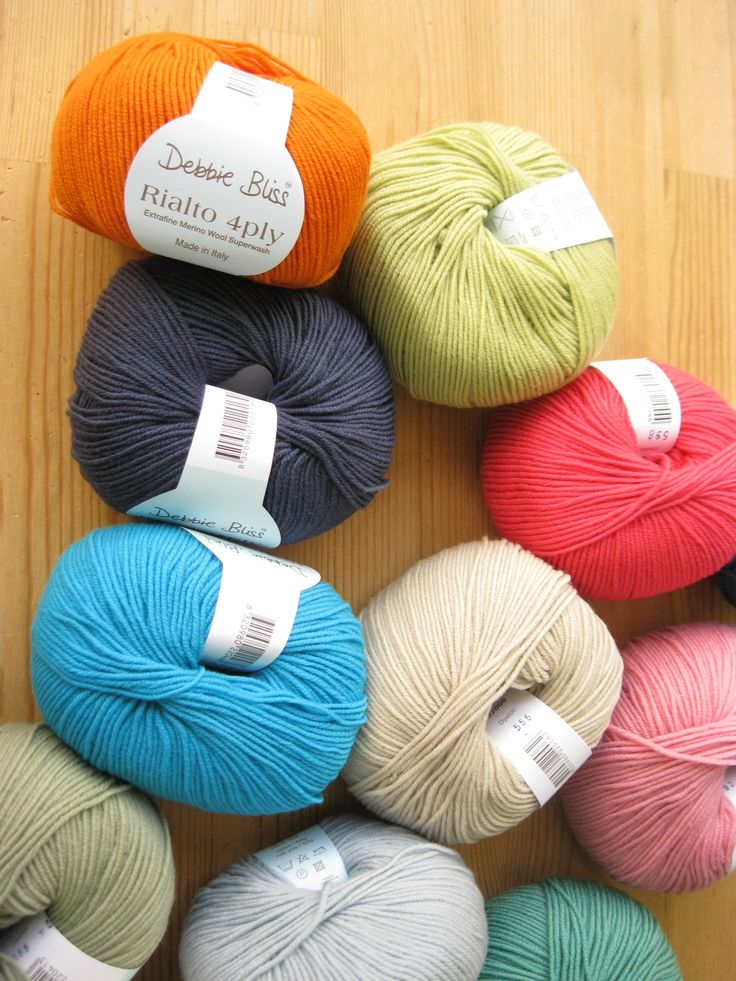 Debbie Bliss Rialto 4 ply. Just arrived to Dotquilts #Debbiebliss #rialto4ply #Yarn #color