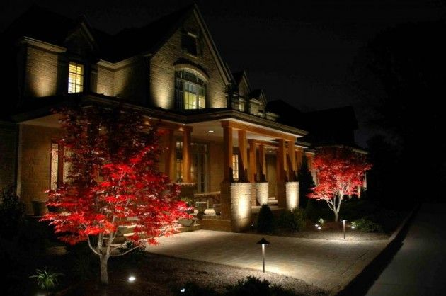 20 Creative Ideas Of Landscape Lighting for Dramatic Backyard | Daily source for inspiration and fresh ideas on Architecture, Art and Design